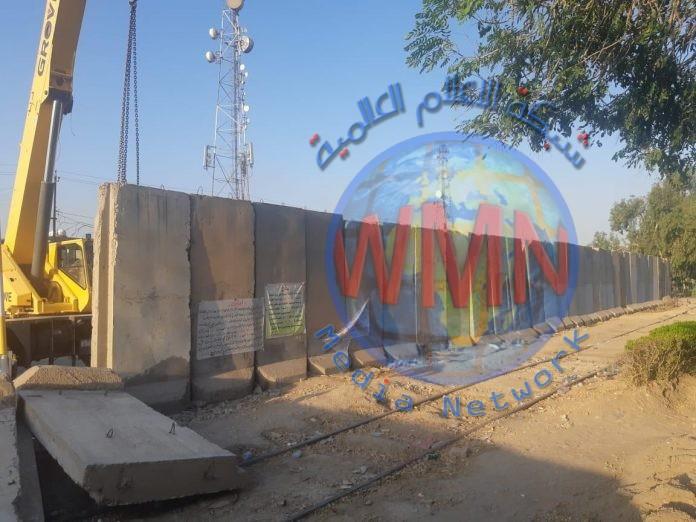 امانة بغداد تباشر برفع الكتل الكونكريتية جنوبي العاصمة