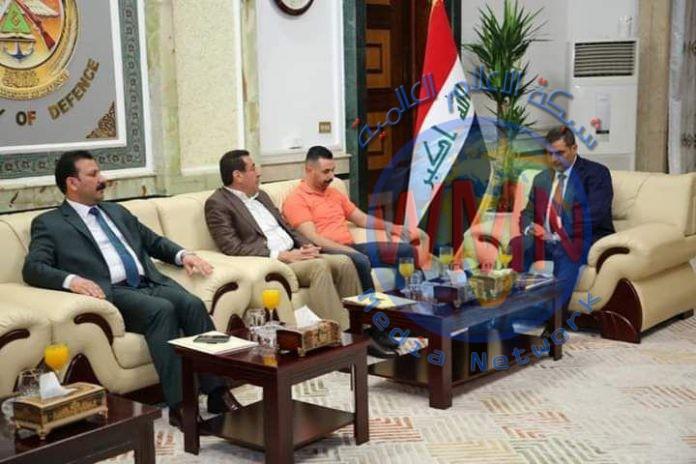 نائب عن ديالى يبحث مع وزير الدفاع عمليات التطهير في المحافظة