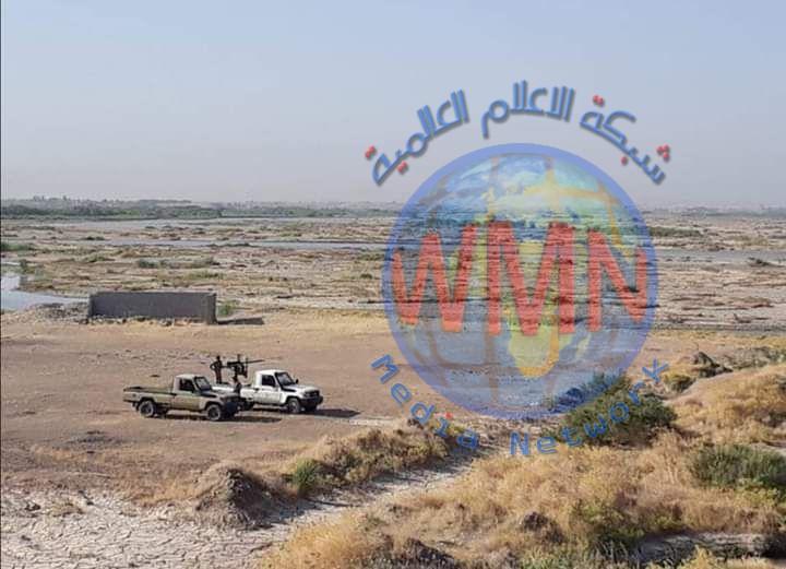 """الحشد الشعبي يغلق 7 مسارات لتسلل """"داعش"""" في حوض حمرين"""