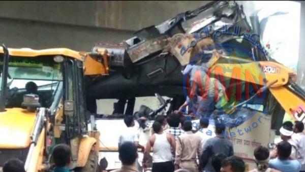 مقتل 29 شخصا بسقوط حافلة ركاب في قناة شمالي الهند