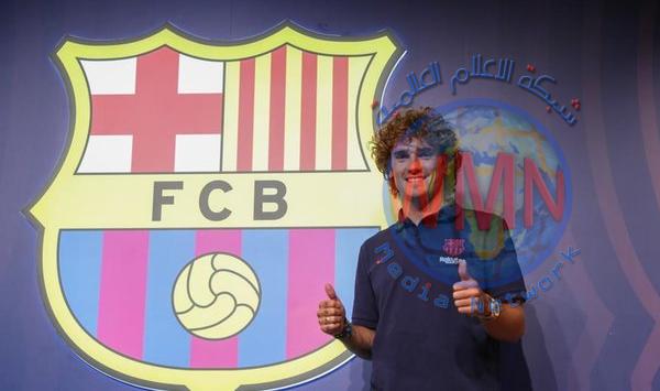 جريزمان: أريد الفوز بكل شيء مع برشلونة