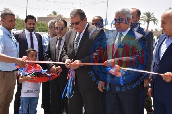 إفتتاح محطة وقود حكومية متكاملة في العامرية بعد اعادة تأهيلها