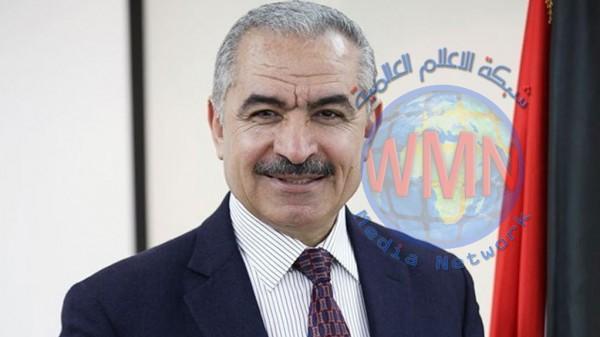 رئيس الوزراء الفلسطيني يصل الى بغداد