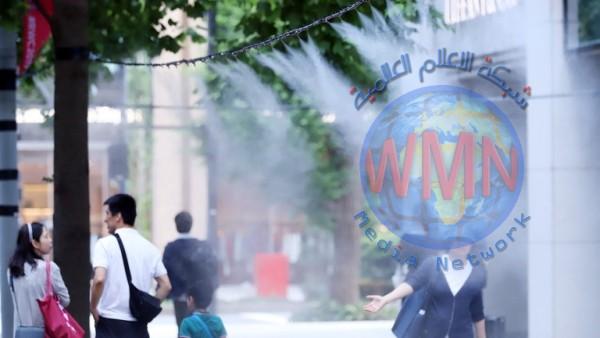 مصرع 11 شخصا بسبب الحرارة الشديدة في اليابان