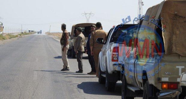 مديرية مقاتلة الدروع تشارك في عمليات إرادة النصر الثالثة في محافظتي ديالى ونينوى