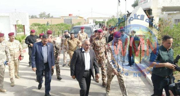 القائد العام للقوات المسلحة يصل مقر عمليات الأنبار لمتابعة سير عمليات إرادة النصر الرابعة