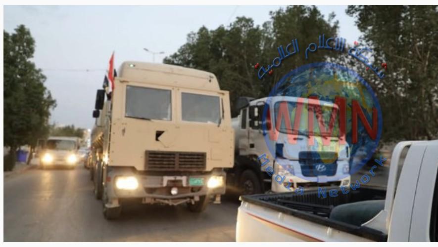 اللواء 26 بالحشد الشعبي يغيث اهالي الحي العسكري في كربلاء