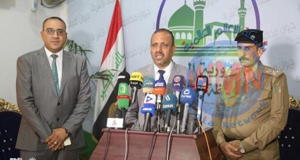 محافظ النجف: 20 ألف عنصر من القوات الأمنية والحشد شاركوا بتأمين زيارة الغدير