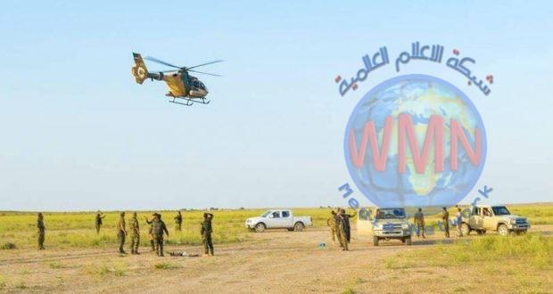 استنادا لمعلومات من عمليات الحشد الشعبي طيران الجيش يدمر عجلة تحمل منصة اطلاق صواريخ في سامراء