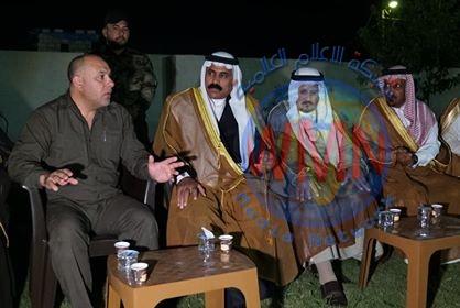 وجهاء وشيوخ المكون العربي في سهل نينوى يشيدون بدور الحشد الشعبي