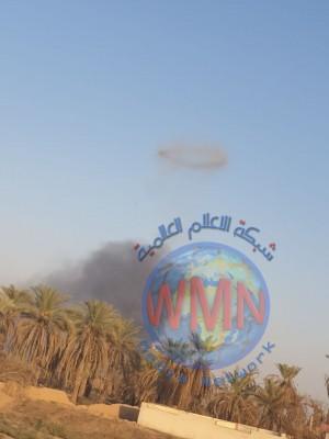 الدفاع المدني: انفجار كدس عتاد في صلاح الدين قرب قاعد البكر الجوية