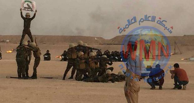 معسكر الإمام الحسين (ع) يُخرّج الدورة الثانية وفق معايير عسكرية عالية لمقاتلي اللواء 18