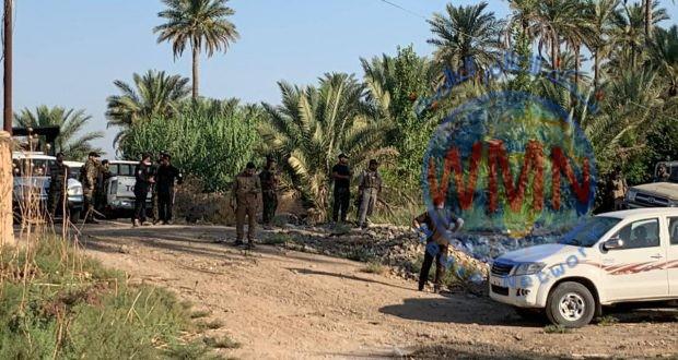 اللواءان 24 و4 يشرعان بعملية تفتيش وتطهير قرى شمال المقدادية