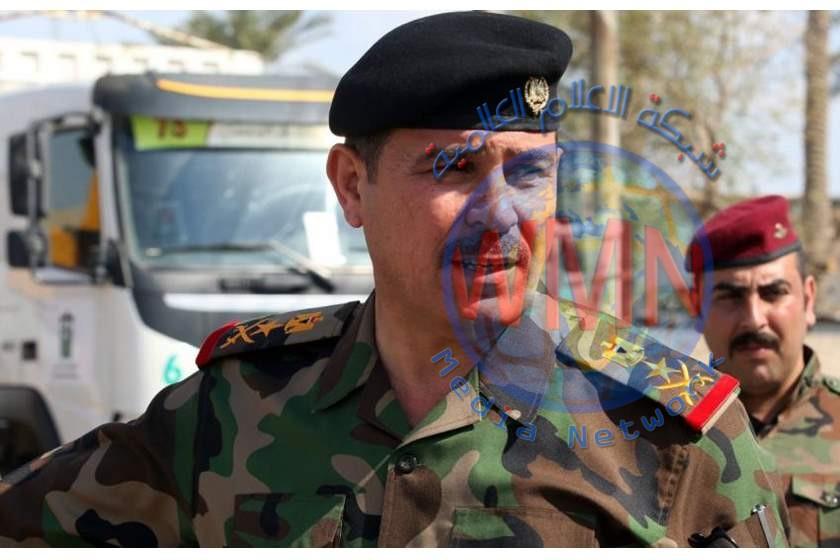 سكرتير رئيس الوزراء الفريق الركن محمدالبياتي يعلن فتح طريق مطار بغداد اعتبارا من اول ايام العيد