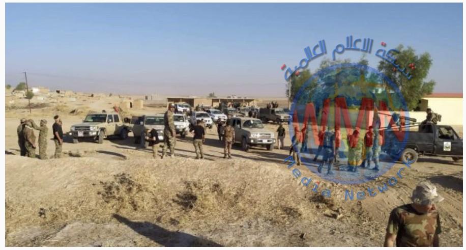 اللواء 33 بالحشد يطهر قريتي بطيشة وأم العظام جنوب الموصل