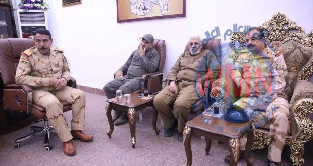 ابومهدي المهندس يزور عمليات نينوى ويؤكد على ادامة التنسيق بين الجيش والحشد الشعبي