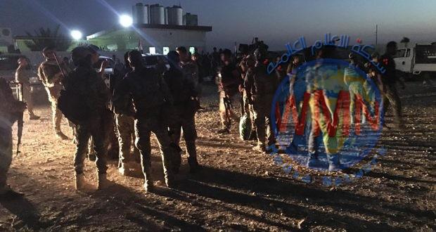 الحشد والجيش ينطلقان بعمليات إرادة النصر الثالثة في ديالى ونينوى