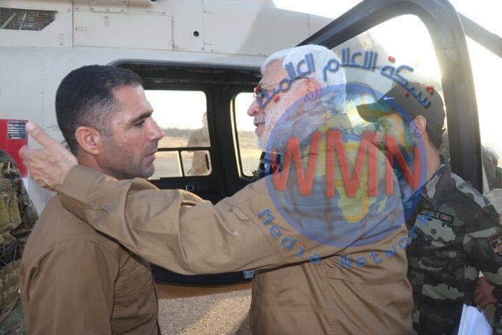ابومهدي المهندس يثمن دور قيادة قاطع عمليات ديالى للحشد بعمليات إرادة النصر الثالثة وتنسيقها العالي مع القوات الامنية