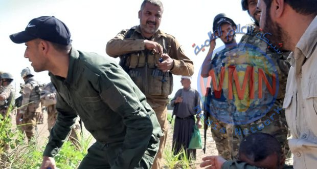 """الحشد والجيش يطهران منطقة ويعثران على مضافتين لـ""""داعش"""" شمال جلولاء"""