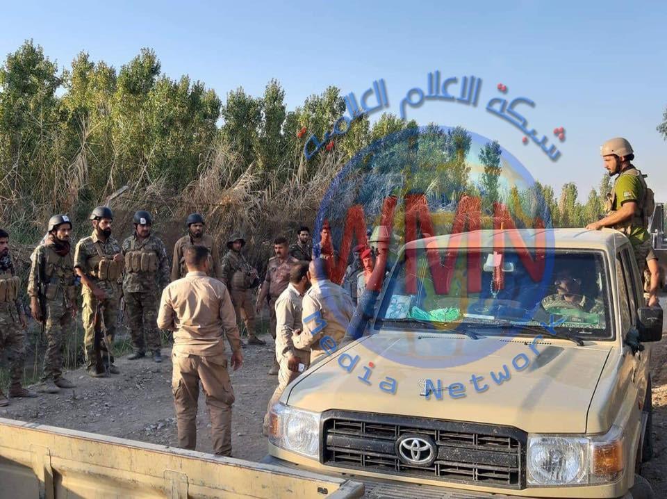 قوة من اللواء 20 بالحشد والجيش يطهران طريقين وعدة مناطق شمال جلولاء