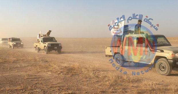 اليوم الرابع من إرادة النصر.. الحشد و عمليات الجزيرة يقتحمان وادي الملصلي شرق عكاشات