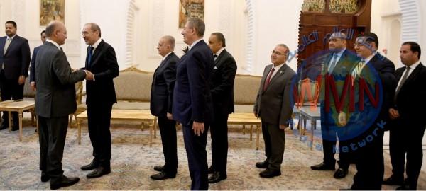 العراق يبحث مع مصر والاردن إعادة إعمار المناطق المحررة