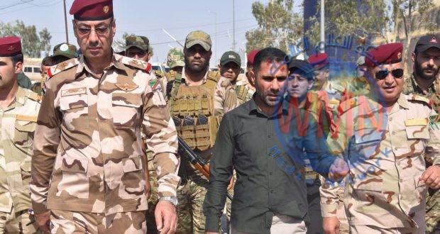 الحشد والجيش يبحثان الجهود الامنية المشتركة في قضاء مندلي