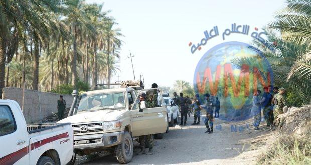 اللواء 44 بالحشد يعثر على مضافة لداعش جنوب الموصل.