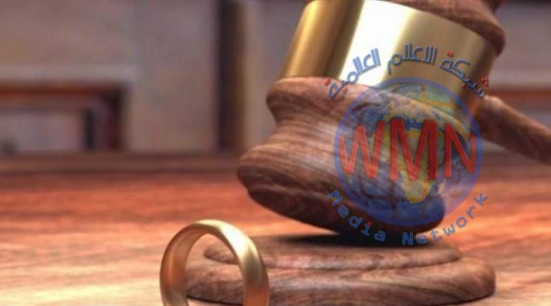 محاكم ديالى تسجل 13 حالة طلاق يومياً