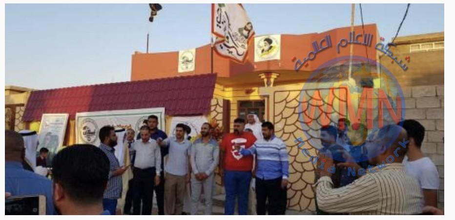 صندوق إسكان الحشد يسلم دارا جديدة لعائلة أول مقاتل نال شرف الشهادة في الموصل