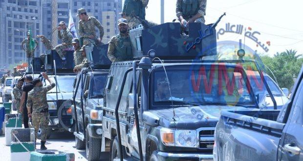 اللواء الثاني بالحشد ينتشر ضمن خطة حماية الزائرين الى النجف الاشرف خلال ايام العيد