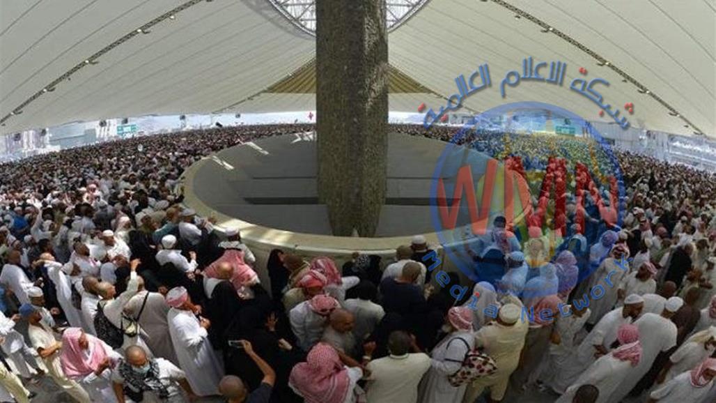 حجاج بيت الله الحرام يواصلون رمي الجمرات في ثاني أيام التشريق