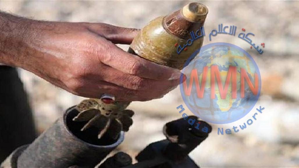 اصابات اثر سقوط قذائف هاون على قرية في داقوق