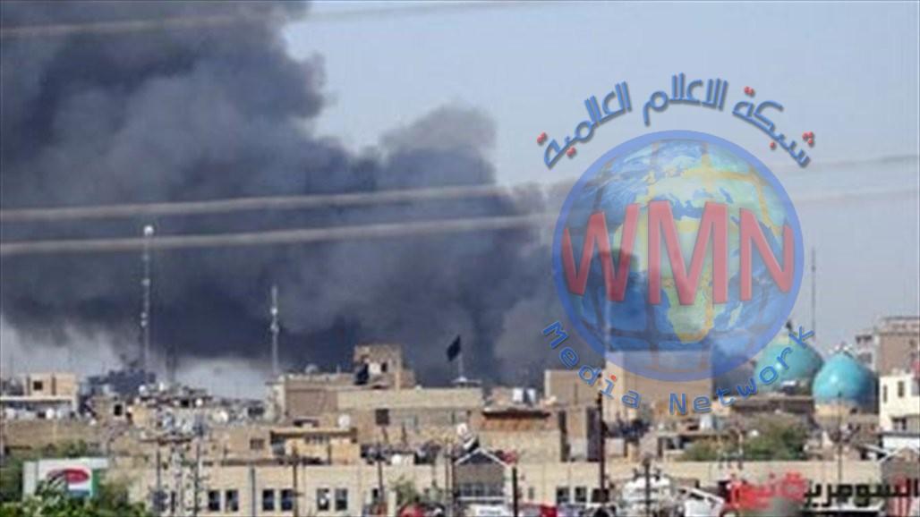 حريق في كمب سارة ببغداد