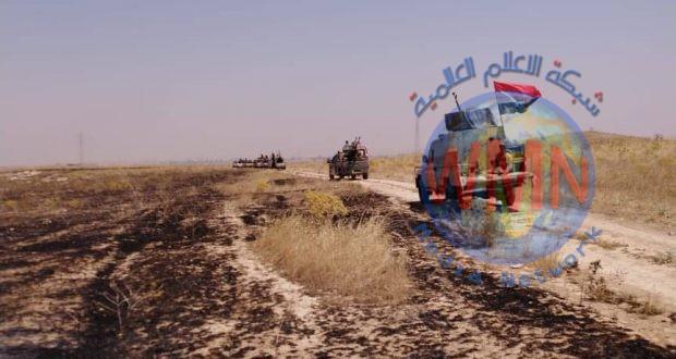 الحشد الشعبي والقوات الامنية ينفذان عملية أمنية في صلاح الدين