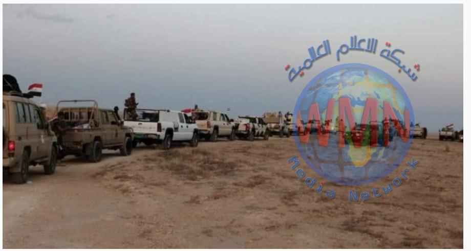 قيادة الحشد لمحافظة الانبار تعلن تدمير كهف لداعش وقتل من فيه بضربة جوية غرب الانبار