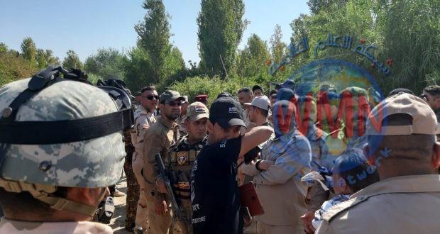 قوة من اللواء 20 بالحشد والجيش يطهران قريتي الإصلاح والنقشبندية غرب جلولاء