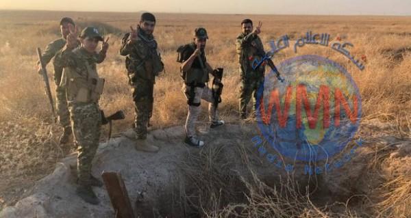 الحشد يدمر 4 مضافات لداعش و6 عبوات ناسفة شمال شرق المقدادية