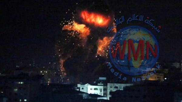 قصف إسرائيلي على مواقع بشمال غزة