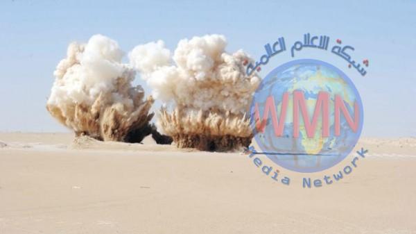 تفجير مسيطر عليه غربي بغداد
