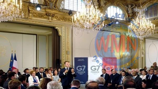 """فرنسا.. مجموعة """"G7"""" تعقد قمتها والمناخ يتصدر جدول الاعمال"""