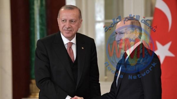 أردوغان في موسكو.. واوضاع المنطقة تتصدر جدول اللقاء