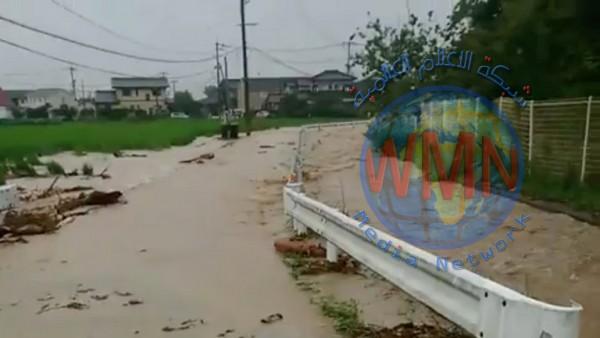 بسبب الأمطار اليابان تقوم بإجلاء نحو 850 ألف شخص