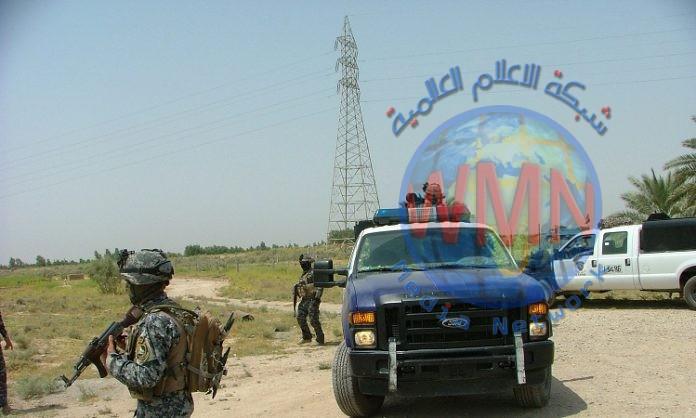 """شرطة ديالى تنفذ عملية امنية لملاحقة """"داعش"""" شرق المحافظة"""
