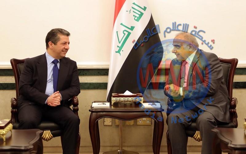 عبد المهدي يبلغ الكرد رفض تأييد مرشحهم لمنصب محافظ كركوك