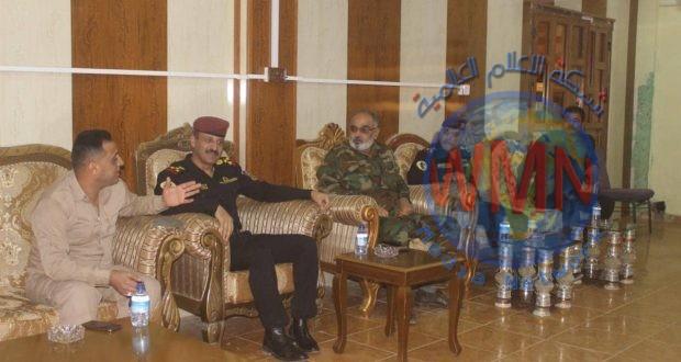 الحشد الشعبي والعمليات الخاصة الثانية يعقدان اجتماعا تنسيقيا للتعاون الأمني في صلاح الدين