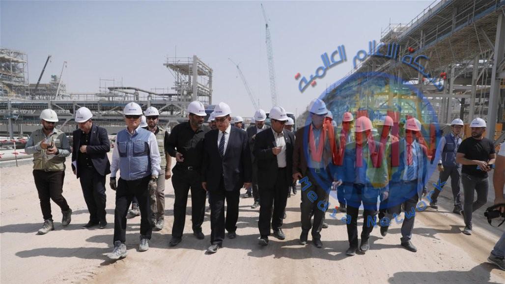 وزارة النفط تعلن ارتفاع نسبة الإنجاز بمشروع مصفى كربلاء الى 76%
