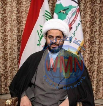 الشيخ قيس الخزعلي: مادامت المرجعية الدينية والحشد الشعبي موجودان فلن تنجح تلك المشاريع