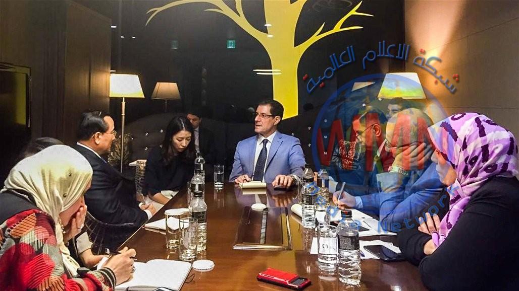وزير التخطيط يؤكد حرص الحكومة العراقية على دعم الاستثمارات الأجنبية