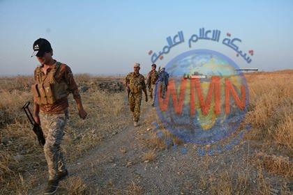 """اللواء 28 بالحشد الشعبي ينفذ عملية أمنية لتعقب فلول """"داعش"""" في ديالى"""